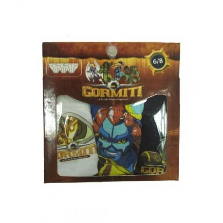 Pack 3x Slips GORMITI