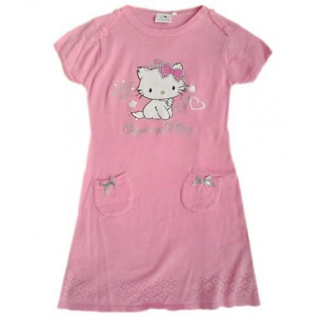 Vestido Charmmy Hello Kitty Punto Rosa