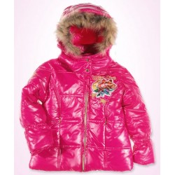 Girls WINX CLUB Pink Padded Jacket Winter Coat NWT