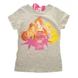 Camiseta WINX CLUB Glitter Gris