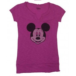 Top MINNIE Brillantitos Rosa
