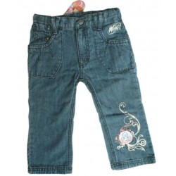 Bermudas Winx Club Denim Bordado
