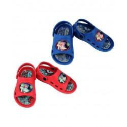 Sandalias Niño Phineas & Ferb clogs abiertos Rojo / Azul