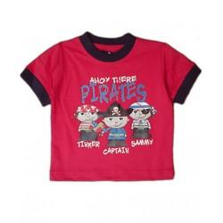 Camiseta Pirata MINOTI Roja  solo 12M / 74cm