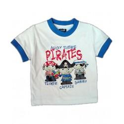 Camiseta Pirata MINOTI Blanca solo 24M / 86cm