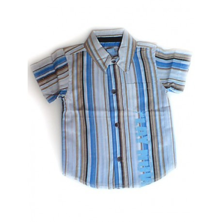 Camisa Country hilo a rayas ORCHESTRA