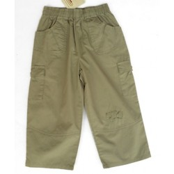 Pantalon chino caqui 3POMMES Neo Jungle