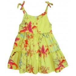 Vestido Estampado 3POMMES amarillo