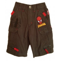 Bermudas Spiderman Gris