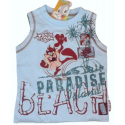 Camiseta Tazz Looney Tunes Beach Paradise azul s/m