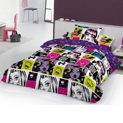 Duvet Set Monster High Chispas 3 pcs Single Bed / Funda Nordica