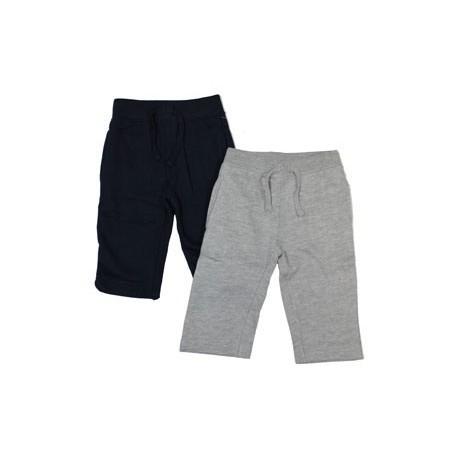 Pantalones Chandal Bebe Afelpados Gris