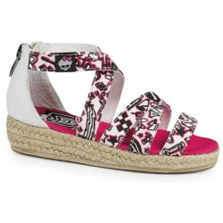 Espandrilles Sandals Monster High White / Sandalias Esparto Blancas