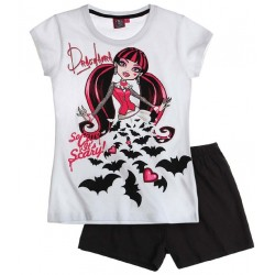 Pijama Corto Monster High Draculaura
