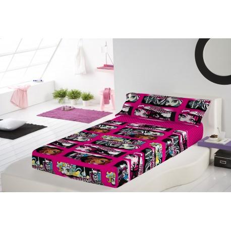 Bedding Set Monster High 3pcs Single Bed Sheets