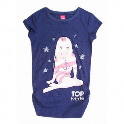 Camiseta Top Model Blue larga