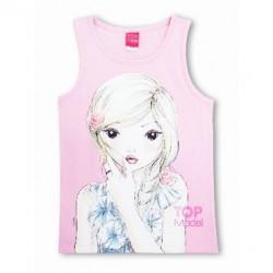 Camiseta top Lycra Top Model pink
