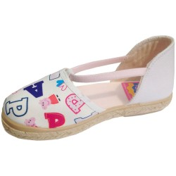 Sandals Peppa Pig White Espadrilles