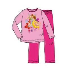 Pijama Winx Club Largo Rosa