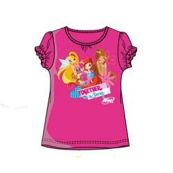 Camiseta Winx Club Fucsia Purpurina