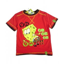 Camiseta BOB ESPONJA Rojo OH-OH