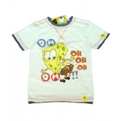 Camiseta BOB ESPONJA Blanco OH-OH