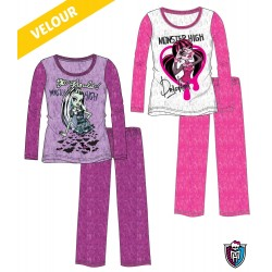 Monster High Draculaura Velour Pyjama Original Sleep wear Pajama