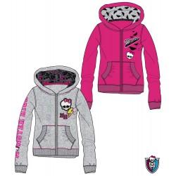 Chaqueta Monster High con capucha y cremallera