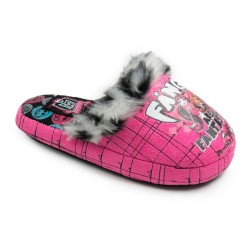 Girls Monster High Slippers Fangs