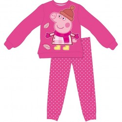 Pijama Peppa Pig Winter Largo