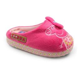 Zapatillas pantuflas Peppa Pig fucsia