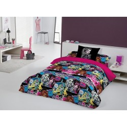 Duvet Set Monster High Thriller 3 pcs Single Bed / Funda Nordica