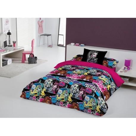 Duvet Set Monster High Thriller 3 pcs Single Bed / Funda Nordica