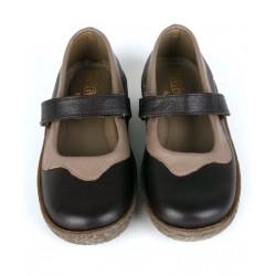 Zapatos Niña Piel NAPA Merceditas / Girls Leather Shoes