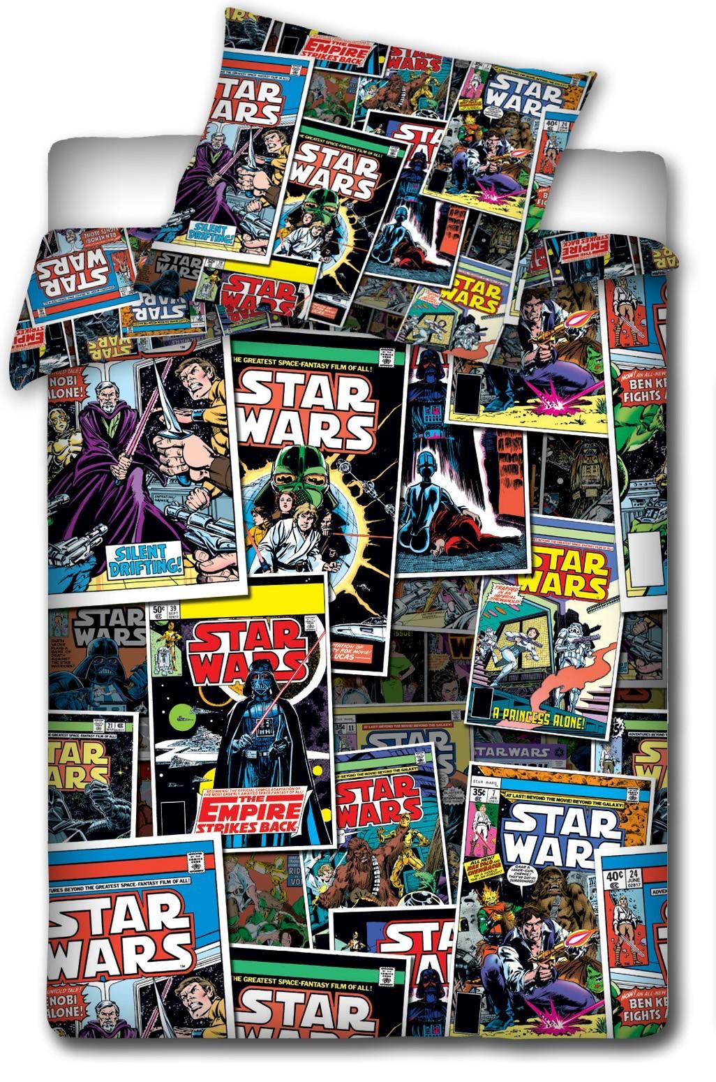 Funda Nordica Star Wars 90.Funda Nordica Star Wars Comic Cama 90 Original Single Duvet Set Minioutlet
