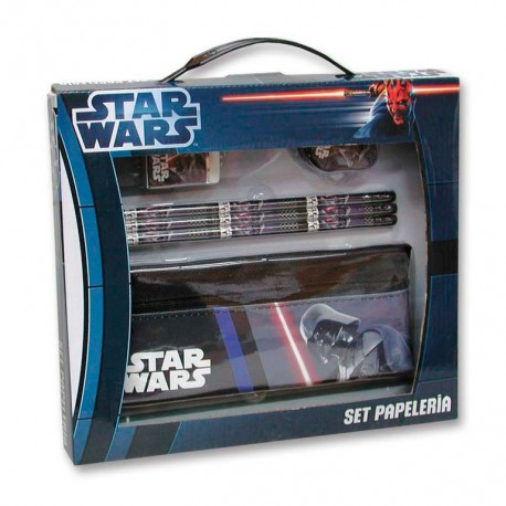 Estuche Darth Vader Star Wars Set Papeleria