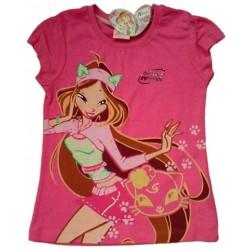 Camiseta WINX CLUB estampada FLORA Rosa