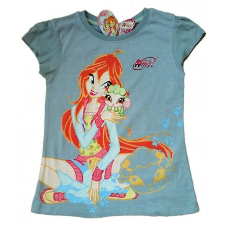 Camiseta WINX CLUB estampada BLOOM Azul