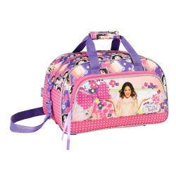 Violetta Disney Flowers Sports Travel Gym Bag /  Bolsa Viaje Deporte