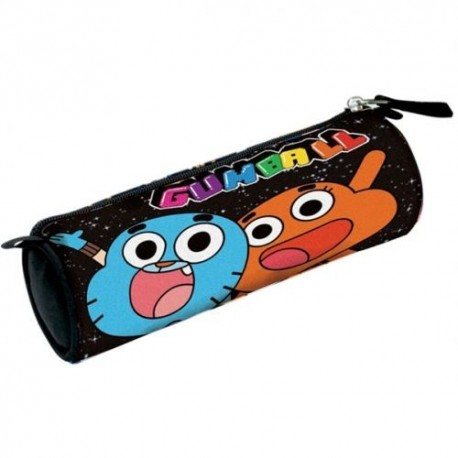 The Amazing World of Gumball Round Pencilcase 23 x 5.5cm