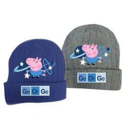 Beanie Hat George Peppa Pig Boys Grey Winter Hat