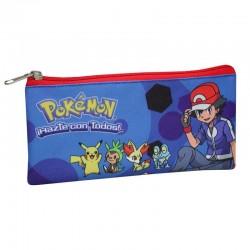 Estuche Portatodo Pokemon + Lápices y Gomas