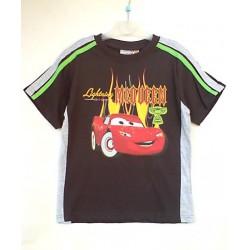 Camiseta CARS con Bandas Sport Negra