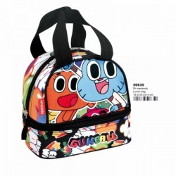 Portameriendas Amazing Gumball Bolsa Merienda Lunchbag School Lunch Bag
