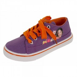 Zapatillas Lona Violetta Disney Flowers Canvas Sneakers