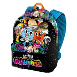 Mochila Gumbal Freetime 41x35x13,5cm. School Bag Backpack