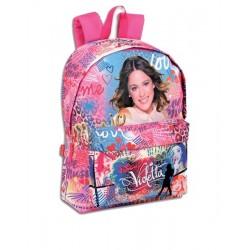 Backpack Violetta Trendy 42cm Large School bag Mochila