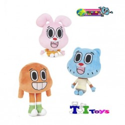 Amazing Gumball Plush Toys 3 pieces Darwin Anais