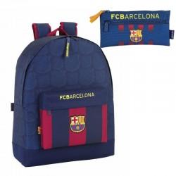 Mochila  FC Barcelona 43x32x15cm Large Backpack School Bag