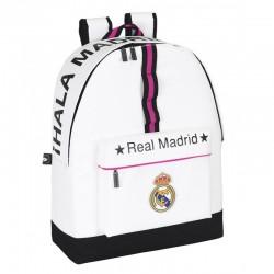 Mochila Real Madrid 43cm + Estuche y Lápices Producto Oficial / Backpack School Bag Pencilcase